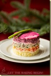 IMG_4856Layered Vegetable & Fish Salad {Шуба}