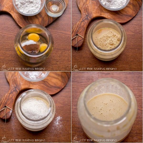 How to make shake and bake German pancakes.