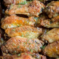 Garlic Ranch Chicken Wings