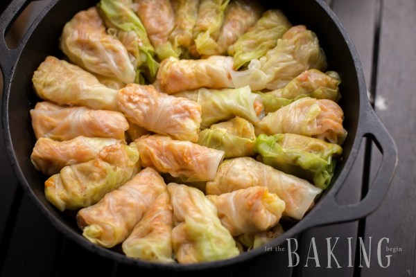 Layer the Cabbage Rolls in a cast iron pot and refrigerate for up to 4 days ahead. Its the perfect make ahead dish!