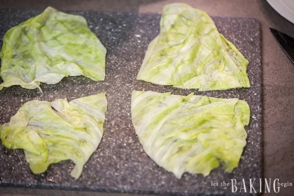 Cabbage rolls retain their juice if properly wrapped. Each leaf makes four roles!