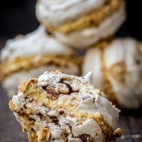 Hazelnut Meringue Bombs Recipe