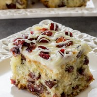 Cranberry Bliss Coffee Cake Recipe (VIDEO)