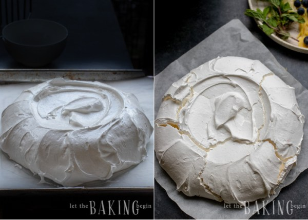 PavlovaCake is light as air, fluffy as the softest pillow, absolutely delightful meringue dessert that combines, marshmallowy pavlova cake, fluffy whipped cream and berries that come together into a delicious and simple and easy dessert.