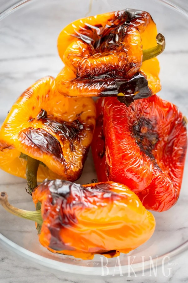 Bell Peppers in Sweet Onion Marinade   Let the Baking Begin