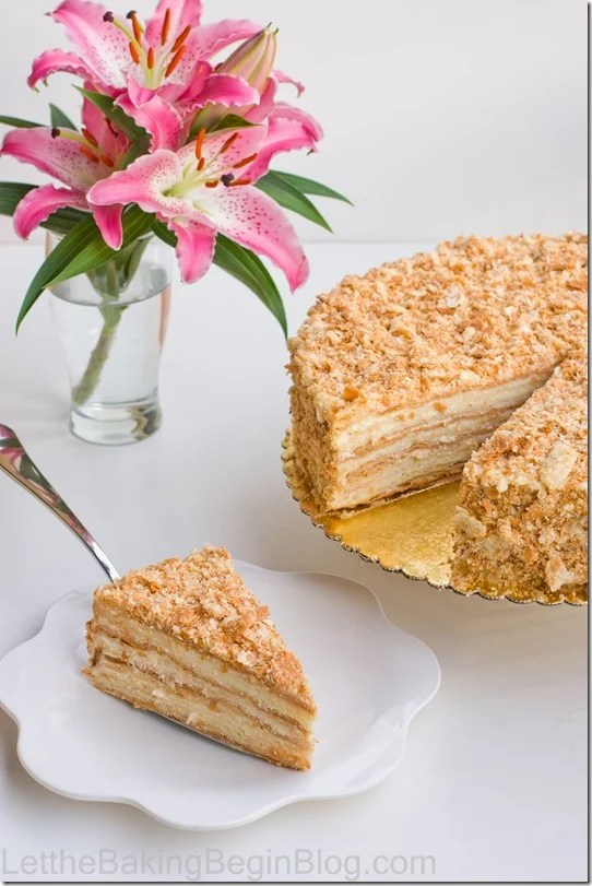 The cake comes out soft, moist and delicious! No more buying puff pastry for this cake, because you can now make it yourself at home.