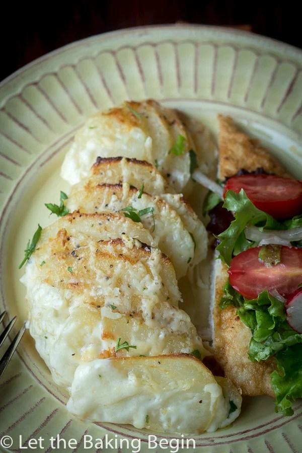 Cheesy Potato Gratin | by Let the Baking Begin!