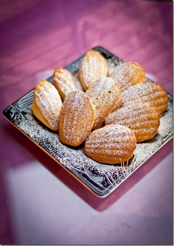 Light, buttery, slightly tangy from the glaze these Madelines are a real treat!