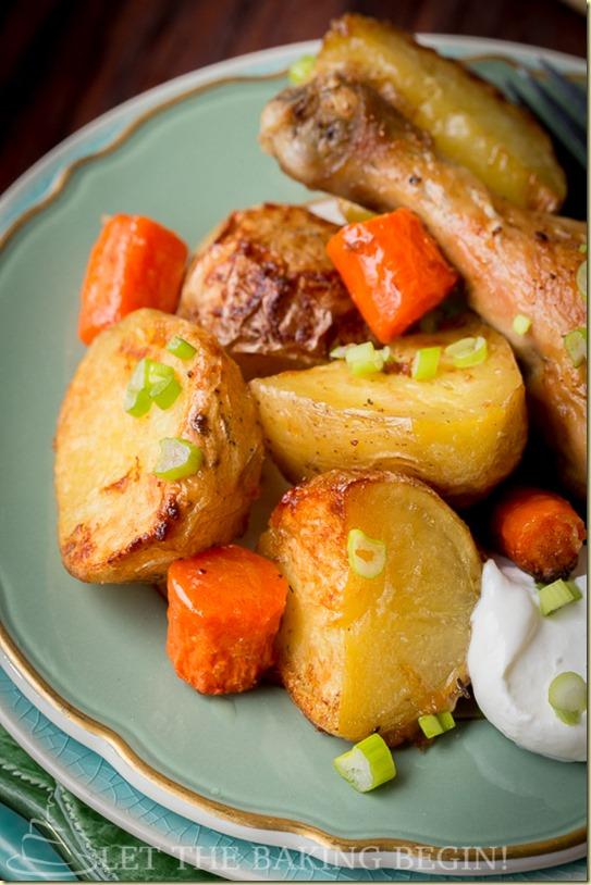 recipe: roasted drumsticks and vegetables [14]