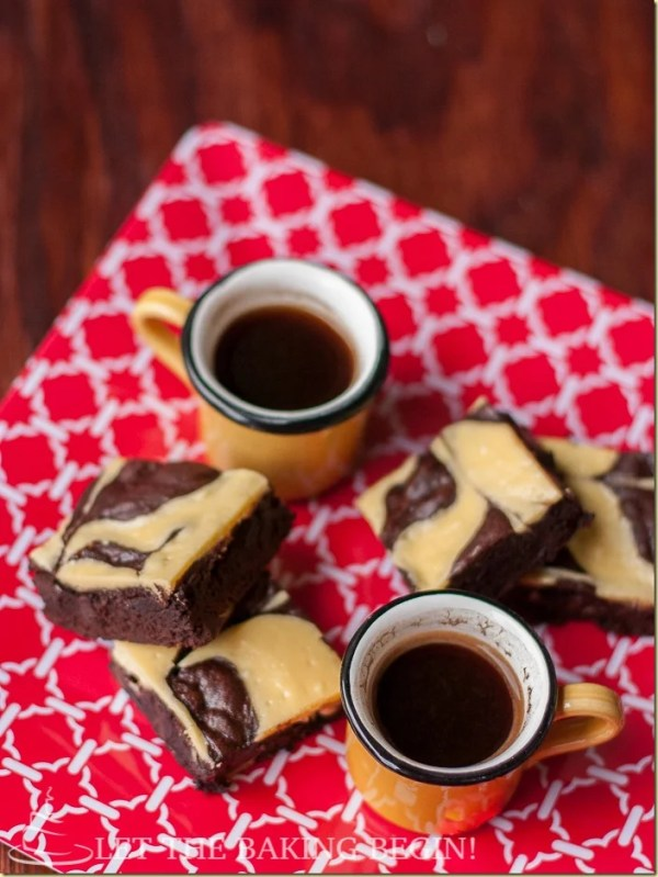 Toss these brownies in minutes and enjoy these rich, chocolate bites of heaven with your morning coffee. Best Cheesecake Brownies EVER! by LettheBakingBeginBlog.com