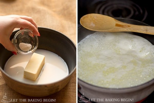 Pate a Choux - knowing how to make this one basic dough means that you have the basic knowledge to make Eclairs, Profiteroles, St. Honore cake and even French Crullers. Check out the step by step pictures to see that there's nothing hard about it!   LetTheBakingBeginBlog.com   @Letthebakingbgn