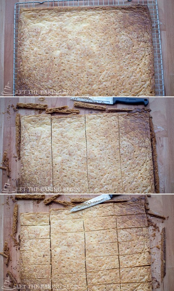 White Chocolate Coconut Pastry - Flaky layers of puff pastry layered with White Chocolate and Coconut Mousse  LetTheBakingBeginBlog.com