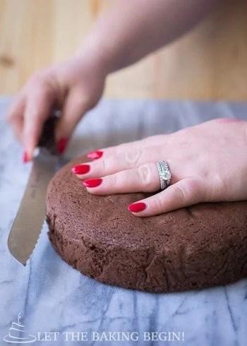 Cutting Sponge Cakes Tricxks