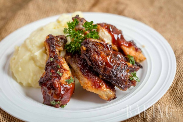 Garlic Ranch Chichen Wings  by Let the Baking Begin!_