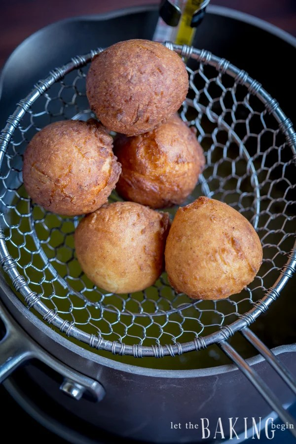 Quick Ricotta Doughnuts - just stir, roll and fry! Quick easy dessert that's a crowd pleaser, every single time!   Let the Baking Begin!