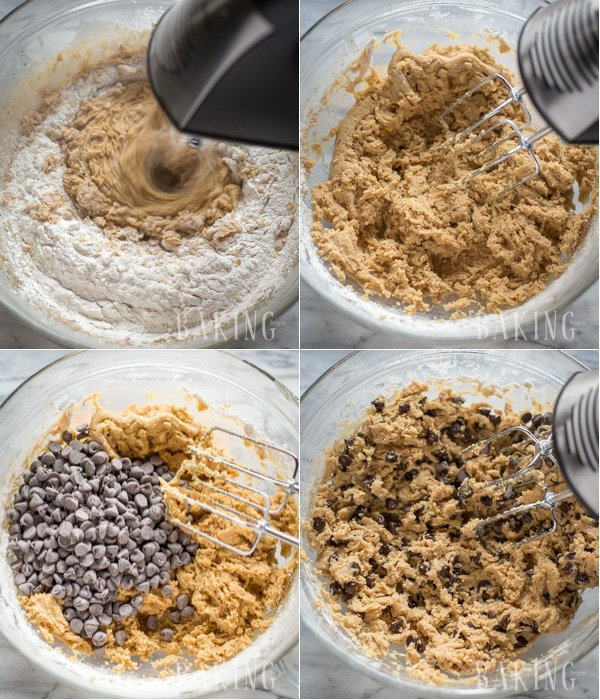 Thick and Chewy Chocolate Chip Cookies - The only recipe I use and the best one for chocolate chip cookies that I have found so far.   By Let the Baking Begin!