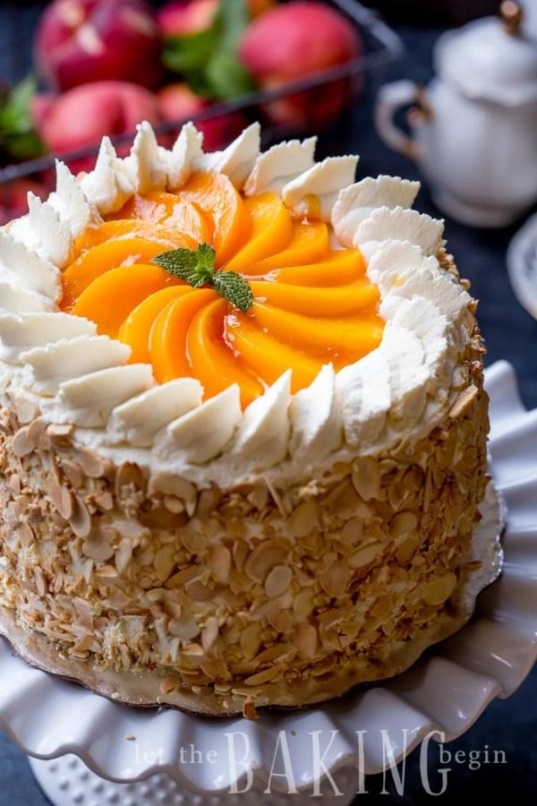 Peaches And Cream Cake With Yellow Cake Mix