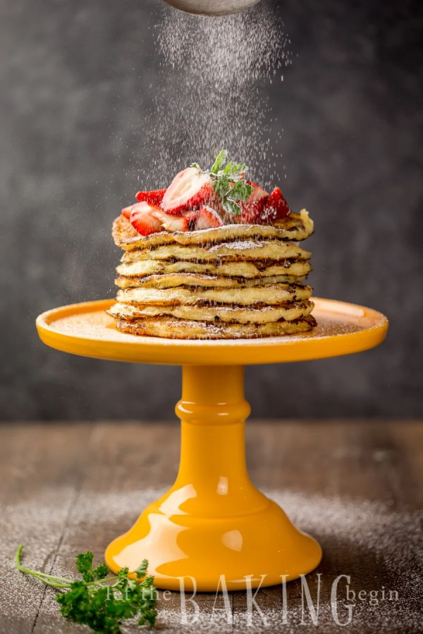 Cottage Cheese Pancake Recipe -Quick breakfast chockful of delicious cottage cheese (think - protein), comes together in a jiffy and is eaten even faster!