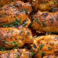 Paprika Baked Chicken Thighs {Paprika Spice Blend}