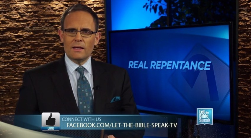Real Repentance (The Text) - LET THE BIBLE SPEAK TV with Kevin Presley
