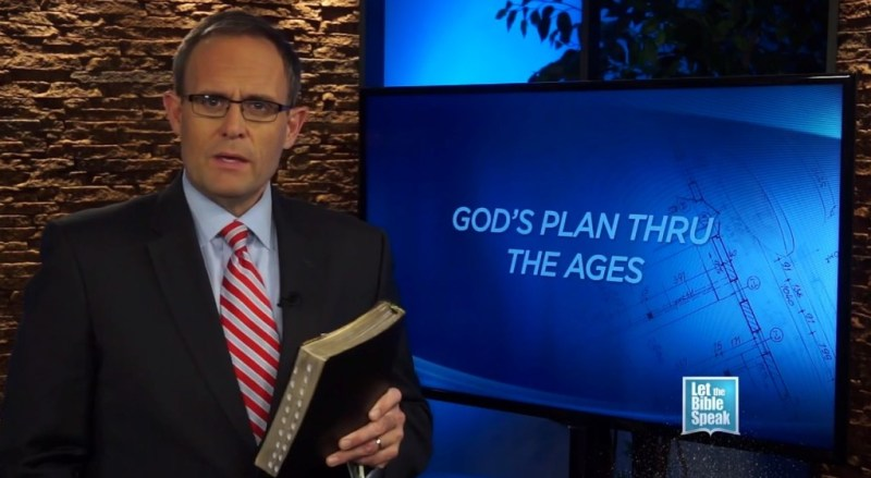 God's Plan Through The Ages (The Text) - LET THE BIBLE SPEAK TV with Kevin Presley