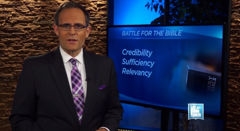 Battle For The Bible's Relevancy (The Text) - LET THE BIBLE SPEAK TV with Kevin Presley