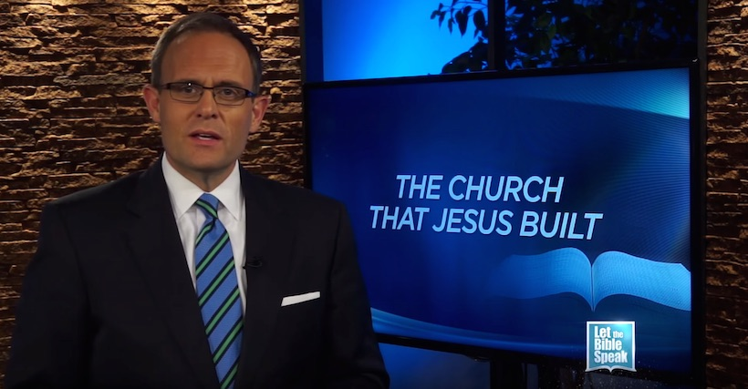 The Church That Jesus Built - Part 2 (The Text) - LET THE BIBLE SPEAK TV with Kevin Presley