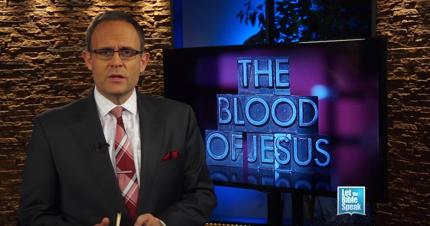 The Blood Of Jesus (The Text) - LET THE BIBLE SPEAK TV with Kevin Presley