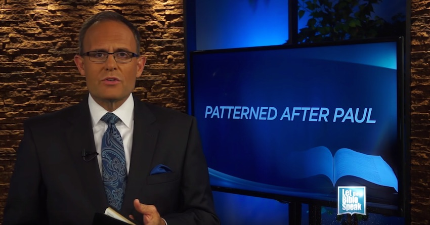 Patterned After Paul (The Text) - LET THE BIBLE SPEAK TV with Kevin Presley