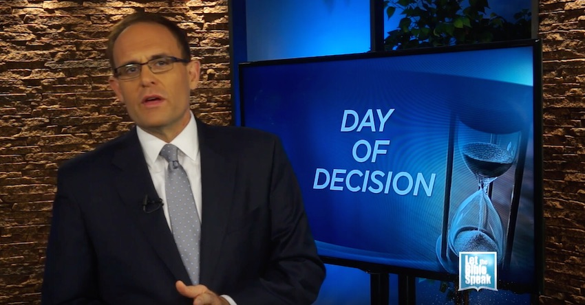 Day Of Decision (The Text) - LET THE BIBLE SPEAK TV with Kevin Presley
