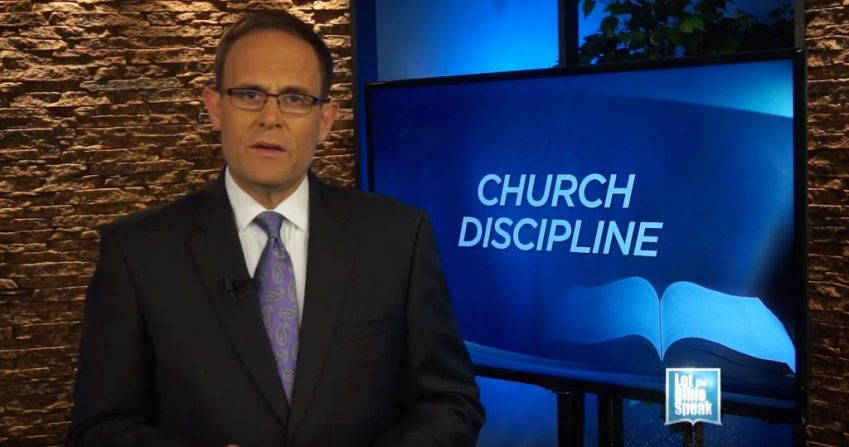 Church Discipline - Part 1 - LET THE BIBLE SPEAK TV with Kevin Presley