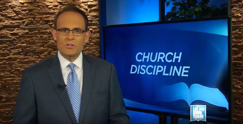 Church Discipline - Part 2 (The Text) - LET THE BIBLE SPEAK TV with Kevin Presley