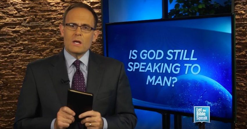 Is God Still Speaking To Man? - LET THE BIBLE SPEAK TV with Kevin Presley