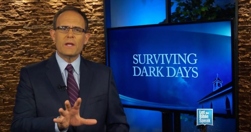 Surviving Dark Days – Part 1 (The Text) - LET THE BIBLE SPEAK TV with Kevin Presley