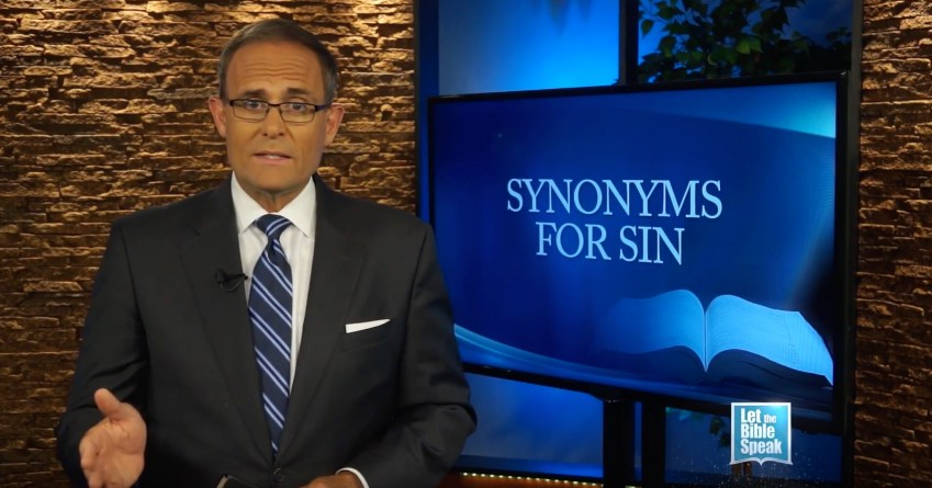 Synonyms For Sin - Part 2 - LET THE BIBLE SPEAK TV with Kevin Presley