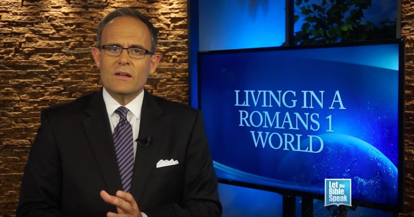 Living In A Romans 1 World - LET THE BIBLE SPEAK TV with Kevin Presley