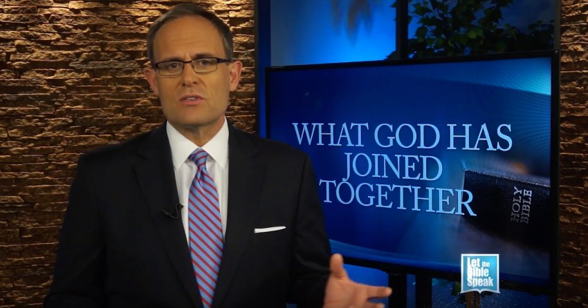 What God Has Joined Together - Part 1 (The Text) - LET THE BIBLE SPEAK TV with Kevin Presley