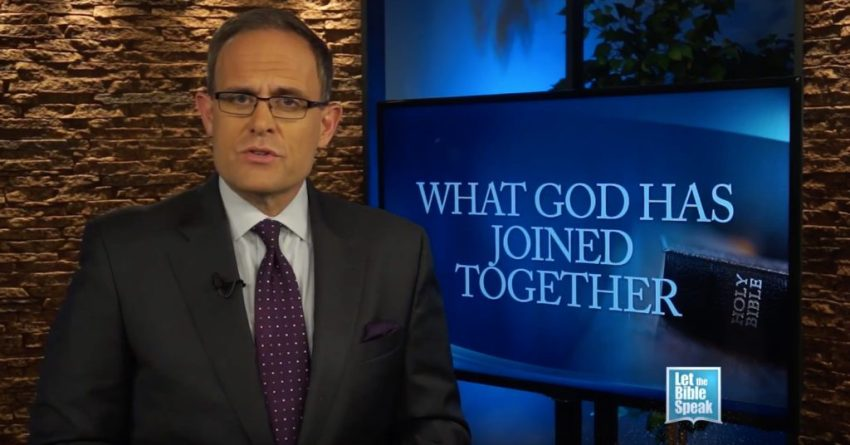 What God Has Joined Together - Part 2 (The Text) - LET THE BIBLE SPEAK TV with Kevin Presley