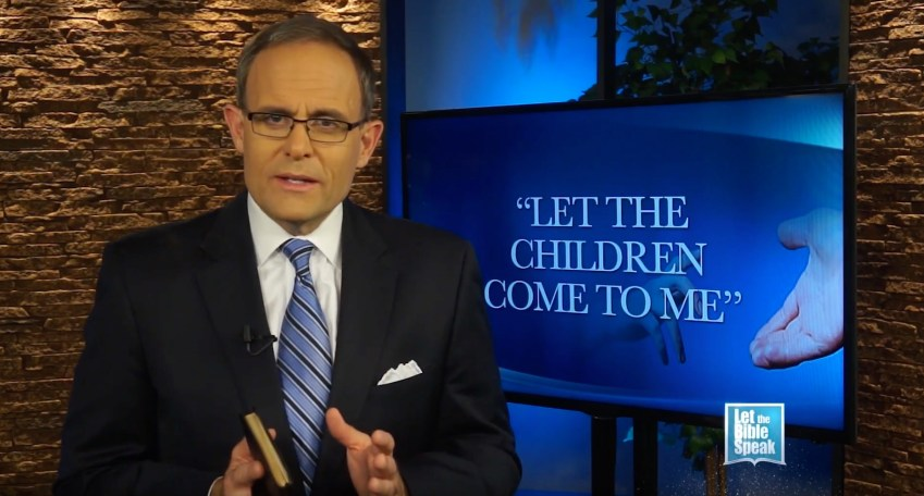 Let The Children Come To Me (The Text) - LET THE BIBLE SPEAK TV