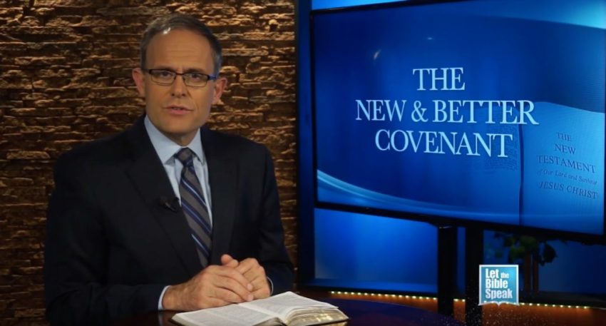 The New And Better Covenant - Part 2 (The Text) - LET THE BIBLE SPEAK TV with Kevin Presley