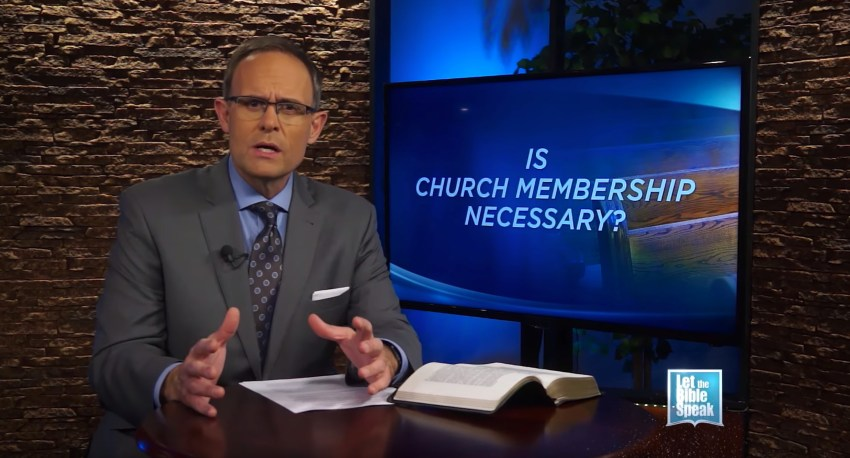 Is Church Membership Necessary? (The Text)