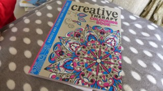 creative therapy colouring book