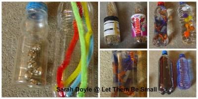 sensory bottle ideas