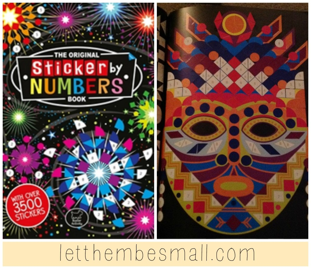 Review – Sticker by Numbers Book
