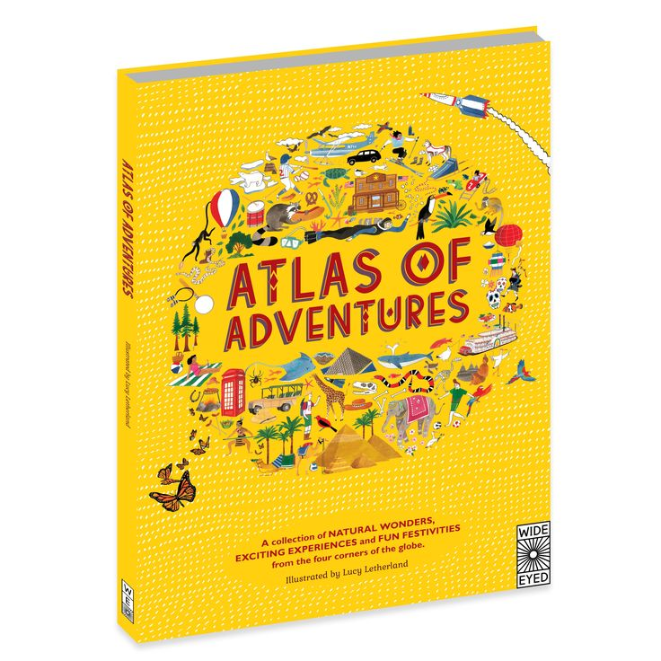 Review : Atlas of Adventures by Lucy Letherland