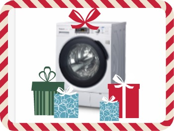 Christmas Washing Machine