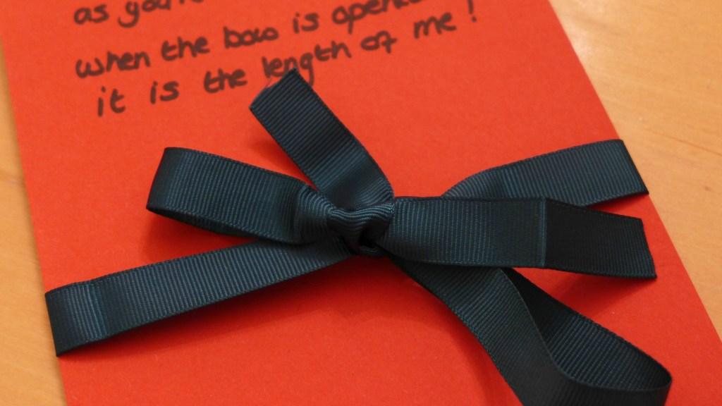 Special ribbon