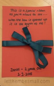 crafting prompt week 1 ribbon
