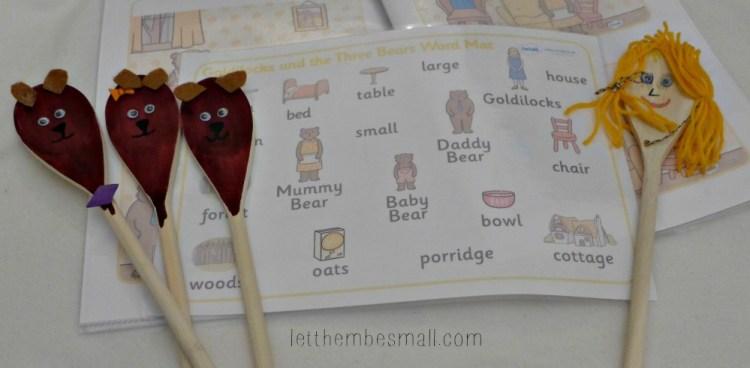 Three Bears Toddler Activities