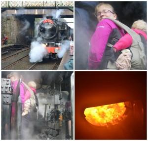 The Tin Bath steam train